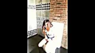 คลิปหลุดนางแบบ Penthouse ในห้องน้ำ