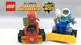 LEGO Flash vs. Captain Cold Mighty Micros set review! 76063