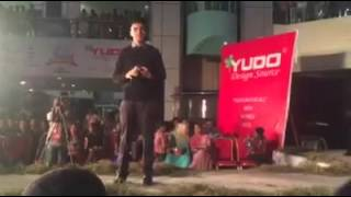 Salmon muktaddi ar Live propose from Sabila Nur