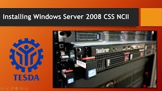installing Windows Server 2008 CSS NCII