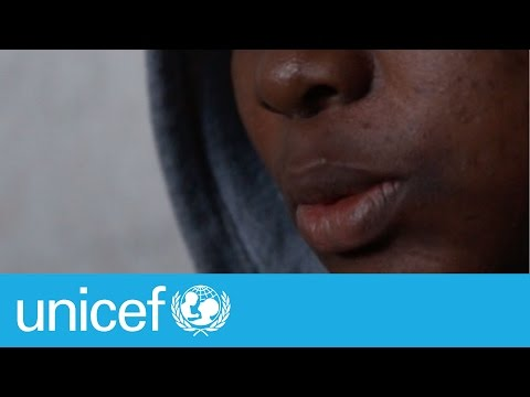 An orphan forced to put her life in the hands of smugglers | UNICEF