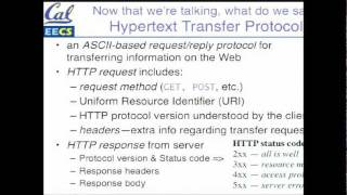 coursera - SaaS -  2.1, 2.2 - The Web as a Client-Server System; TCP/IP Introduction