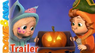 🎃 Little Pumpkin - Trailer   Halloween Songs for Toddlers by Dave and Ava 🎃