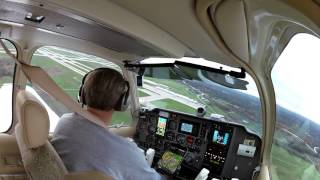 Bonanza Landing @ KGRR