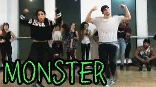 MONSTER - @MeekMill Dance Video   @MattSteffanina Choreography (ADV Hip Hop Class)
