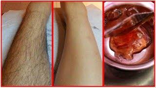 ఇంట్లో దొరికే వాటితో అవాంఛిత రోమాలను తొలిగించే విధానం|NATURAL HAIR REMOVAL AT HOME| DEMO |TELUGU