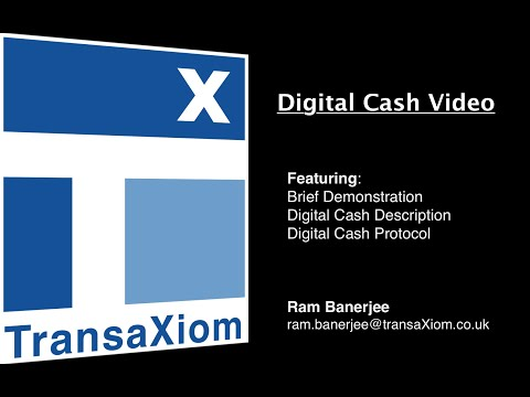 Yx Digital Cash Demo video
