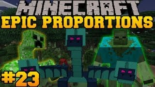 Minecraft: Epic Proportions - Naga Boss Fight!  - Episode 23 (S2 Modded Survival)