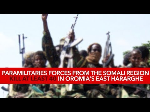 Xxx Mp4 Ethiopia Paramilitaries Forces From The Somali Region Kill At Least 40 In Oromia S East Hararghe 3gp Sex