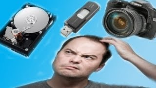 How to Recover Corrupt/Unreadable Files from a Hard drive, USB, Camera or ANY other device!