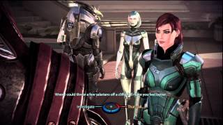 Mass Effect 3: Garrus and Wrex being bros