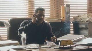 زين القناوي يبحث عن الرقم الي بعتله الرساله - مسلسل نسر الصعيد -  محمد رمضان
