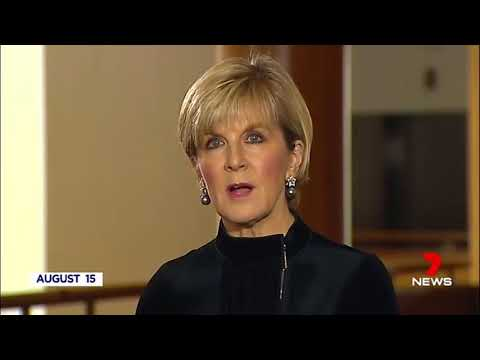 Xxx Mp4 Julie Bishop Reacts To Rebroadcasting Of Her Difficulty To Trust NZ Labour Comments 3gp Sex