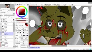 [SpeedPaint] Trapped (remake) (Five Nights at Freddy's 3)