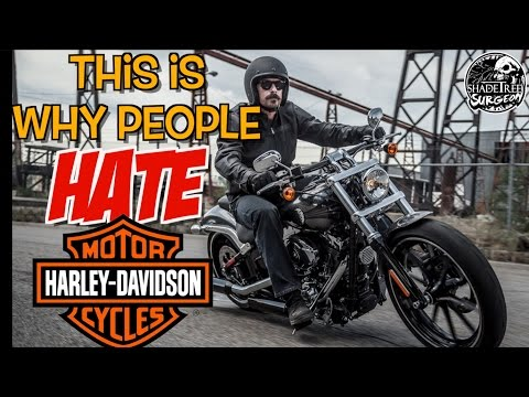 This Is Why People Hate Harley Davidson Motorcycles