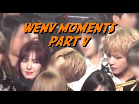 BTS V & RED VELVET WENDY BTSVELVET (WENV MOMENTS PT. 5)
