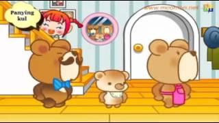 Lagu anak Korea   3 Beruang Gom Gom se mari ga