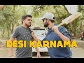 Desi Karnama - Part 1 Ft. Be YouNick And Amit Bhadana