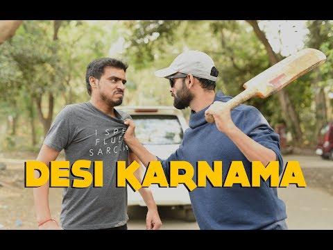 Desi Karnama - Part 1 Ft. Be YouNick And Amit Bhadana