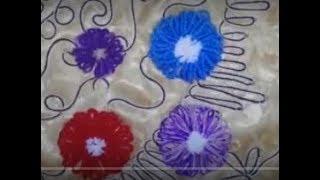 تعلمي وردة على النول بطريقة سهلة Flower Loom