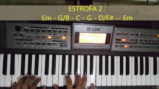 HE DECIDIDO SEGUIRTE JOSUE DEL CID FT EVAN CRAFT TUTORIAL PIANO