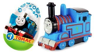 Surprise Eggs VIDEO FOR CHILDREN Thomas and Friends Collection Toys from Chocolate Egg
