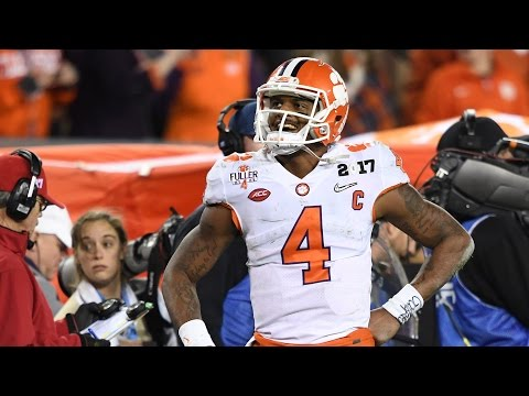 Time to Schein Clemson wins the National Championship