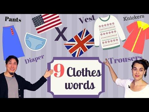 Xxx Mp4 9 Clothes Words American X British English 3gp Sex