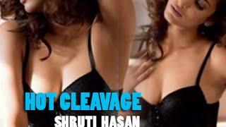 So HOT ! Shruti Hassan Hot Yevadu Leaked Deep Cleavage !