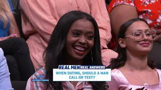 Real Men, Real Answers: Text or Call?  || STEVE HARVEY