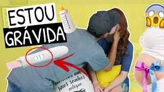 ESTOU GRÁVIDA 😱 | Trollando o marido e olha no que deu!!! 💩