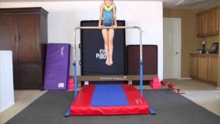 2015/2016 Artistic Gymnastics Bar Skills | Hunter in the Gym