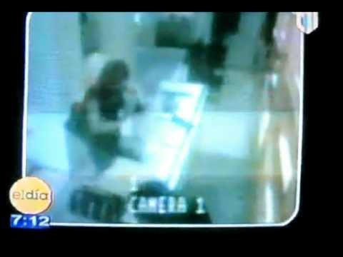 Video Figueroa Agosto y Sobeida Camara de seguridad tienda de P.R.