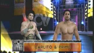 (SvR 2011) Carlito (Hidden Character) & Primo Tag Entrance
