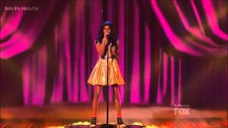 Diamond White - Because You Loved Me - The X Factor USA 2012 (Live Show 4)