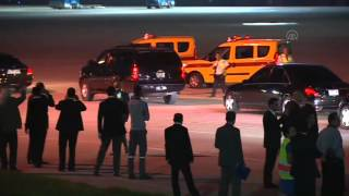 Saudi King Salman arrives in Turkey