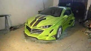 سيارة الوحش الجزائرية (تعديل سيارة بيجو 206 )