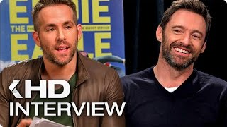 DEADPOOL VS EDDIE THE EAGLE Official Interview (2016)