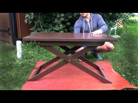 Разборный стол своими руками
