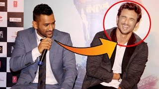 M.S. Dhoni TROLLS Sushant Singh Rajput - Funny Interview - M.S Dhoni Trailer Lauch