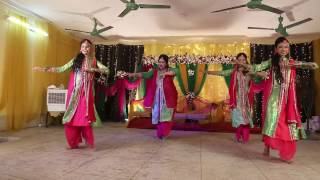 Tu Cheez Badi | Holud Dance
