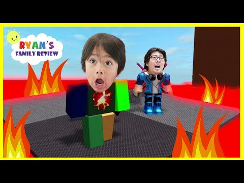 ROBLOX Floor is Lava Let s Play Family Game Night with Ryan s Family Review
