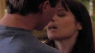 Charmed, Piper and Leo... First and last kiss...