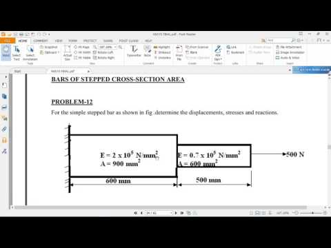 Xxx Mp4 Ansys Bar Problem 12 As Per Vtu Syllabus From ANSYS Lab 3gp Sex