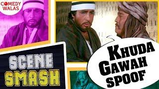 "Khuda Gawah Spoof | Shaadi Mein Kyun Nahi Aaya? ""Loose Motion Tha"" Ft.(Amitabh) | Scene Smash"