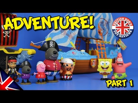 Spongebob Squarepants Toy Adventure Pirate Ship Episode Pirate Bay Story