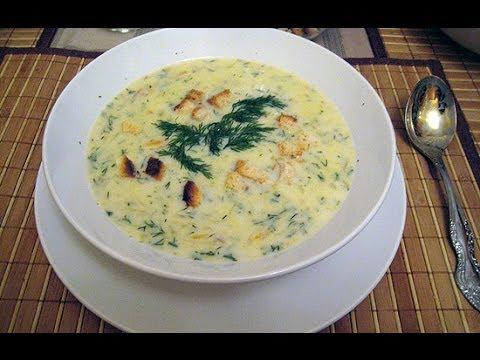 Сырный суп рецепт с грибами и плавленным сыром рецепт пошагово