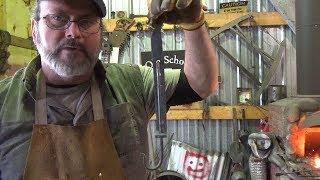 Blacksmithing - Back To The Basic - B2E3 - Cooking Gear Exercise - Trammel Hook