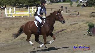 073XC Azure Siraco on Bold n Royal JR Training Cross Country Twin Rivers Ranch September 2017