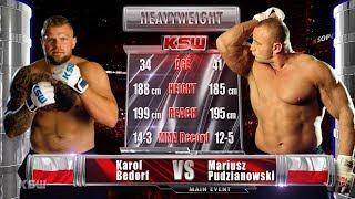KSW Free Fight: Karol Bedorf vs Mariusz Pudzianowski